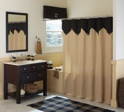 Primitive Country Shower Curtain House Of Lace