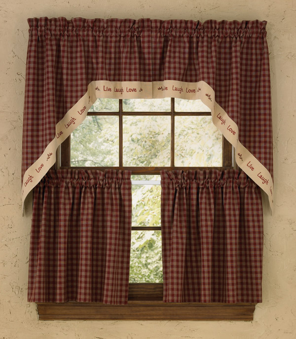 ... Country Curtains : House of Lace & Primitive Curtains, Country Decor